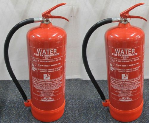 2 x Jewel Saffire Products WFEX9JSP 21A 9Litre Water Fire Extinguishers